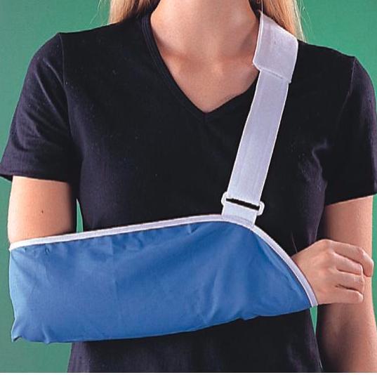 Косынка при переломе руки